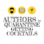 Author Engelina Jaspers on Authors in Quarantine Getting Cocktails with Host Douglas Burdett
